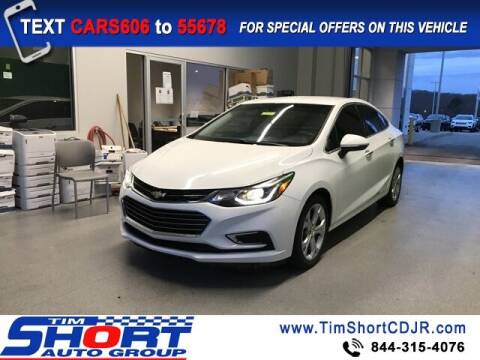2017 Chevrolet Cruze for sale at Tim Short Chrysler in Morehead KY