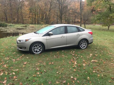 2015 Ford Focus for sale at CESSNA MOTORS INC in Bedford PA
