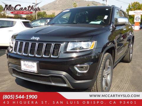 2015 Jeep Grand Cherokee for sale at McCarthy Wholesale in San Luis Obispo CA
