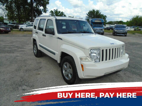 2010 Jeep Liberty for sale at J & F AUTO SALES in Houston TX