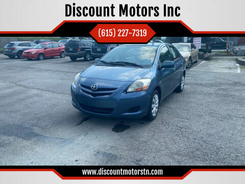 2007 Toyota Yaris for sale at Discount Motors Inc in Nashville TN