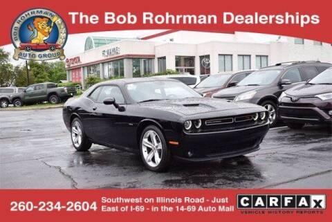 2018 Dodge Challenger for sale at BOB ROHRMAN FORT WAYNE TOYOTA in Fort Wayne IN