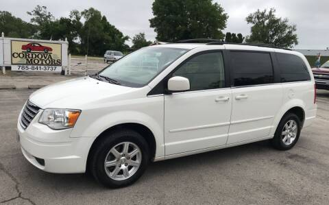 2008 Chrysler Town and Country for sale at Cordova Motors in Lawrence KS