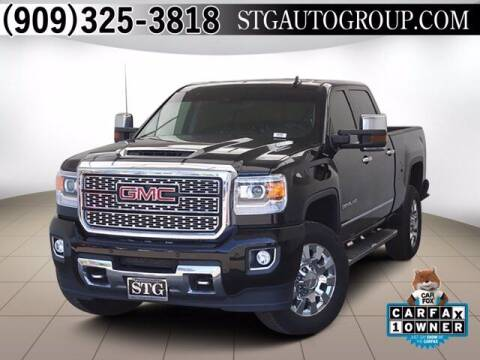 2019 GMC Sierra 2500HD for sale at STG Auto Group in Montclair CA