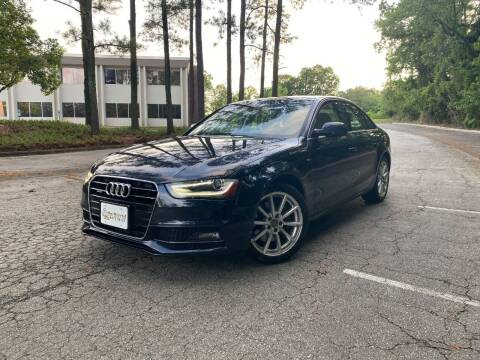 2014 Audi A4 for sale at Uniworld Auto Sales LLC. in Greensboro NC