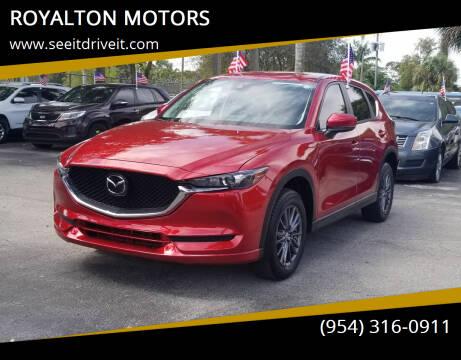 2020 Mazda CX-5 for sale at ROYALTON MOTORS in Plantation FL