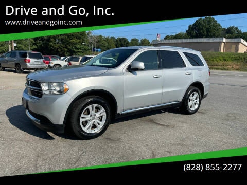 2011 Dodge Durango for sale at Drive and Go, Inc. in Hickory NC