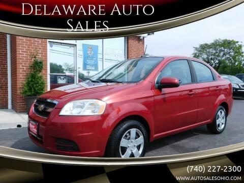 2011 Chevrolet Aveo for sale at Delaware Auto Sales in Delaware OH
