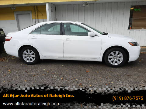 2008 Toyota Camry Hybrid for sale at All Star Auto Sales of Raleigh Inc. in Raleigh NC