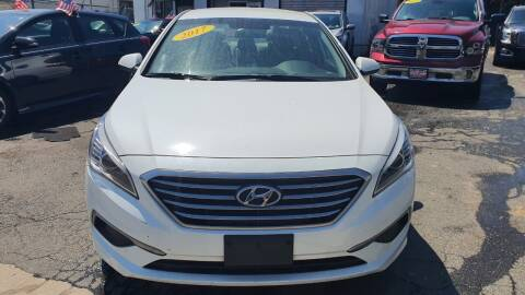 2017 Hyundai Sonata for sale at Buy Here Pay Here Auto Sales in Newark NJ