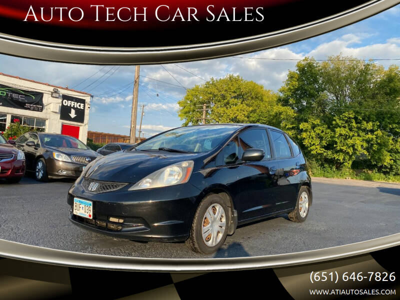 2009 Honda Fit for sale at Auto Tech Car Sales in Saint Paul MN