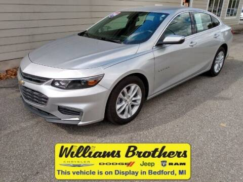 2018 Chevrolet Malibu for sale at Williams Brothers - Pre-Owned Monroe in Monroe MI