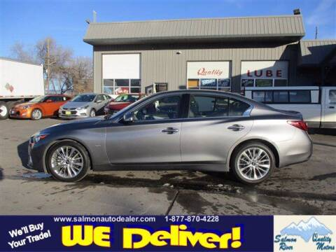 2020 Infiniti Q50 for sale at QUALITY MOTORS in Salmon ID