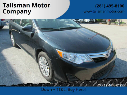 2013 Toyota Camry for sale at Don Jacobson Automobiles in Houston TX