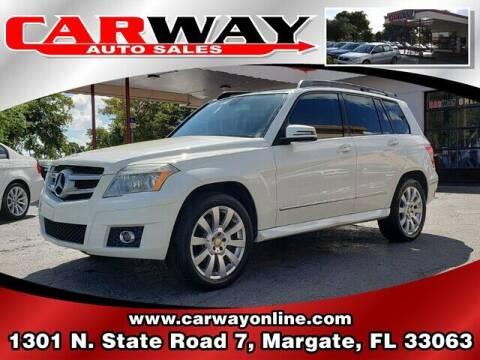 2010 Mercedes-Benz GLK for sale at CARWAY Auto Sales in Margate FL