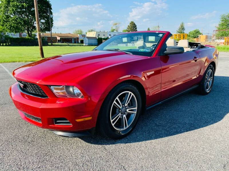 2011 Ford Mustang for sale at Capri Auto Works in Allentown PA