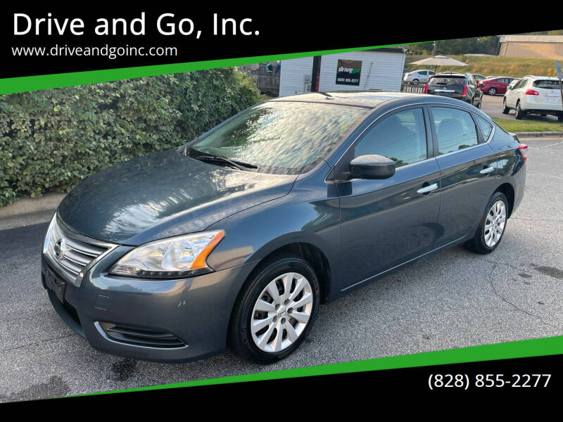 2015 Nissan Sentra for sale at Drive and Go, Inc. in Hickory NC