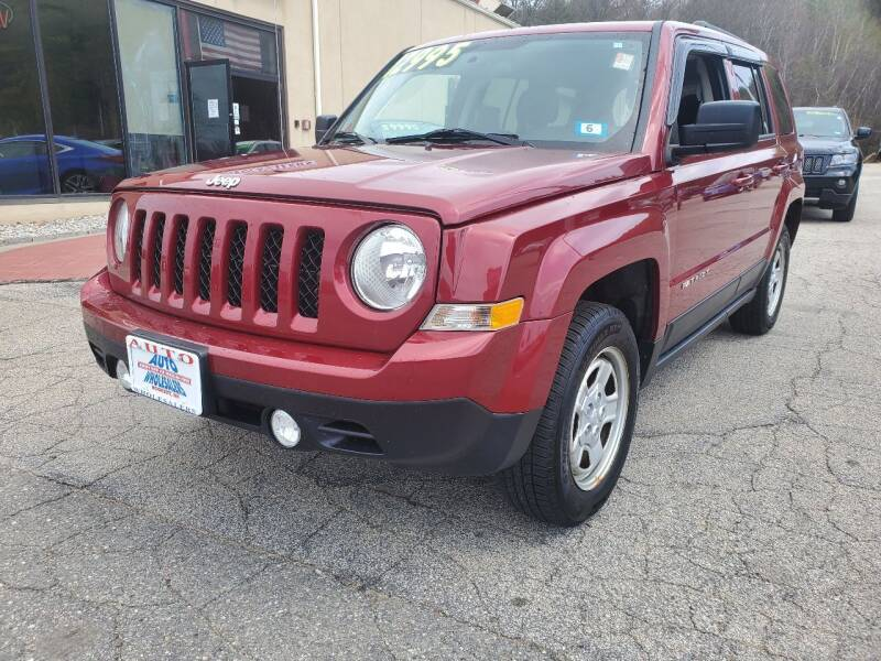 2015 Jeep Patriot for sale at Auto Wholesalers Of Hooksett in Hooksett NH