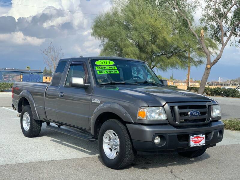 2011 Ford Ranger for sale at Esquivel Auto Depot in Rialto CA