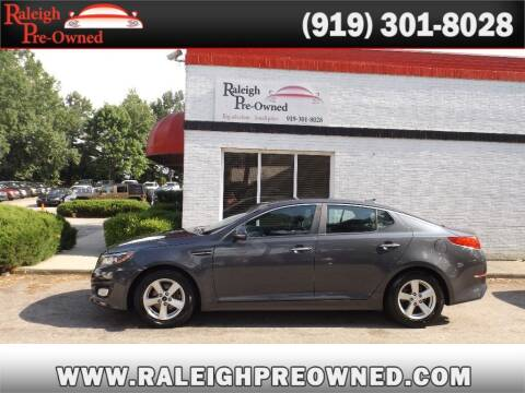 2015 Kia Optima for sale at Raleigh Pre-Owned in Raleigh NC