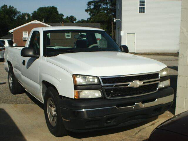 2007 Chevrolet Silverado 1500 Classic for sale at Wamsley's Auto Sales in Colonial Heights VA