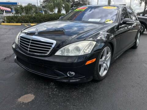 2007 Mercedes-Benz S-Class for sale at RoMicco Cars and Trucks in Tampa FL