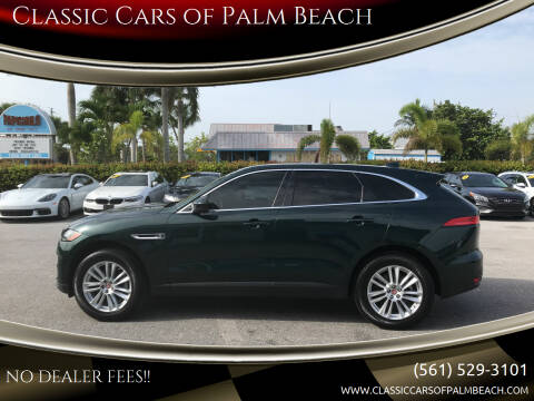 2017 Jaguar F-PACE for sale at Classic Cars of Palm Beach in Jupiter FL