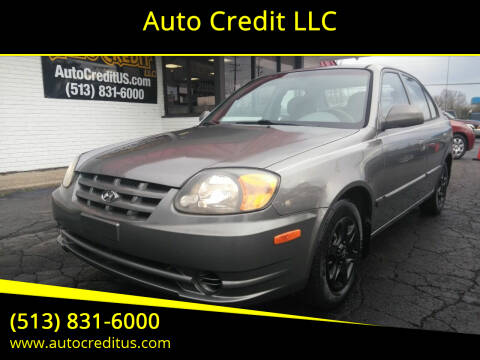 2003 Hyundai Accent for sale at Auto Credit LLC in Milford OH