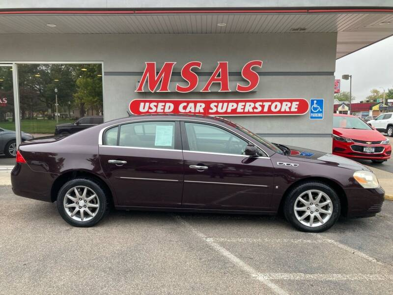 2007 Buick Lucerne for sale at MSAS AUTO SALES in Grand Island NE