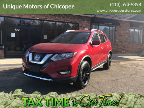 2017 Nissan Rogue for sale at Unique Motors of Chicopee in Chicopee MA