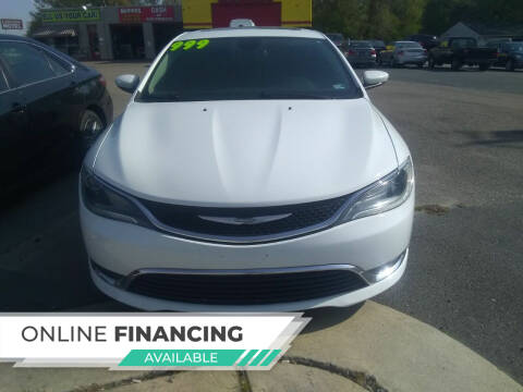 2015 Chrysler 200 for sale at Marino's Auto Sales in Laurel DE