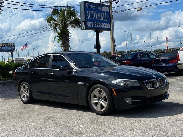 2013 BMW 5 Series for sale at Winter Park Auto Mall in Orlando FL