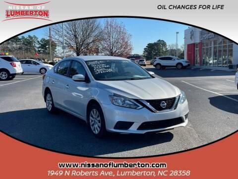 2017 Nissan Sentra for sale at Nissan of Lumberton in Lumberton NC