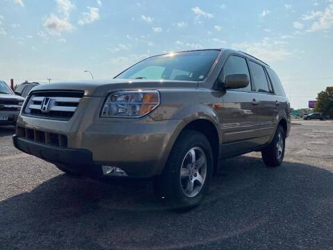 2008 Honda Pilot for sale at Auto Tech Car Sales and Leasing in Saint Paul MN