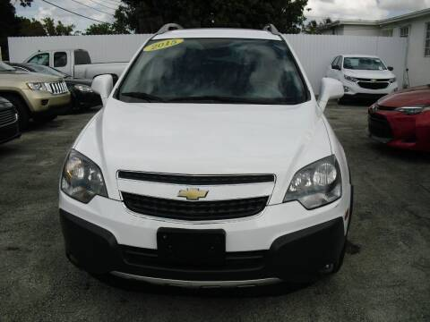 2015 Chevrolet Captiva Sport for sale at SUPERAUTO AUTO SALES INC in Hialeah FL