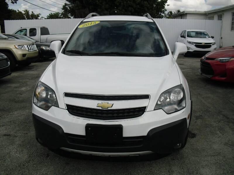 2015 Chevrolet Captiva Sport for sale at SUPERAUTO AUTO SALES INC in Hialeah FL