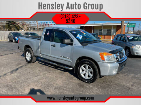 2010 Nissan Titan for sale at Hensley Auto Group in Middletown OH