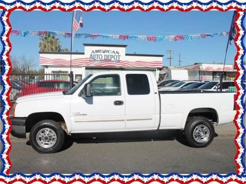 2006 Chevrolet Silverado 2500HD for sale at American Auto Depot in Modesto CA