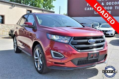 2016 Ford Edge for sale at LAKESIDE MOTORS, INC. in Sachse TX