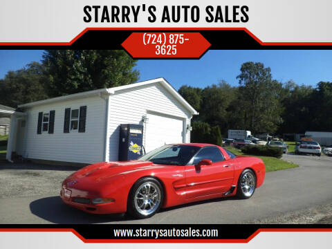 1998 Chevrolet Corvette for sale at STARRY'S AUTO SALES in New Alexandria PA
