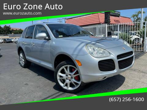 2004 Porsche Cayenne for sale at Euro Zone Auto in Stanton CA