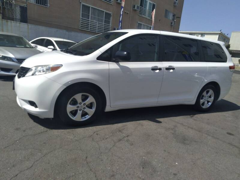 2014 Toyota Sienna for sale at Western Motors Inc in Los Angeles CA