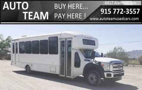 2015 Ford F-550 Super Duty for sale at AUTO TEAM in El Paso TX