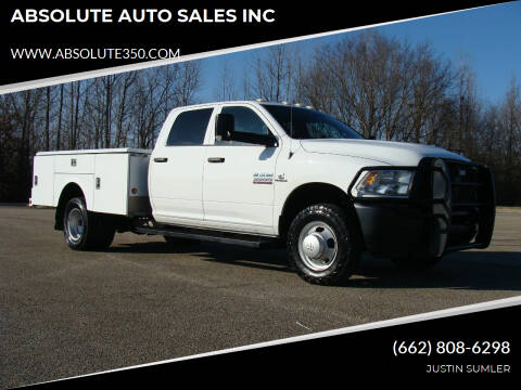 2016 RAM Ram Chassis 3500 for sale at ABSOLUTE AUTO SALES INC in Corinth MS
