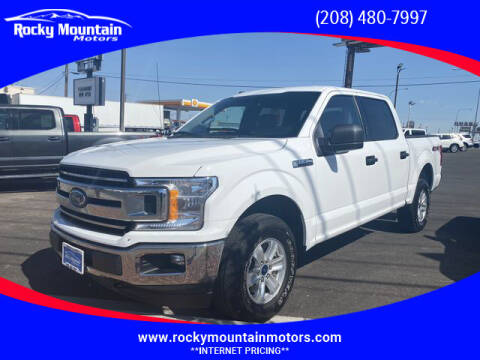 2018 Ford F-150 for sale at Rocky Mountain Motors in Idaho Falls ID
