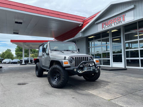 2001 Jeep Wrangler for sale at Furrst Class Cars LLC in Charlotte NC