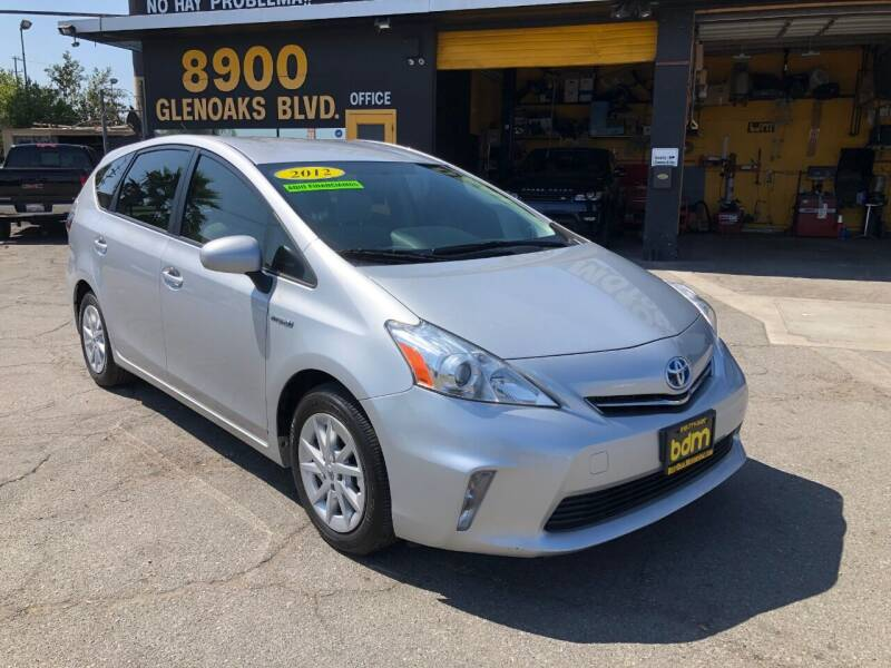 2012 Toyota Prius v for sale at BEST DEAL MOTORS  INC. CARS AND TRUCKS FOR SALE in Sun Valley CA