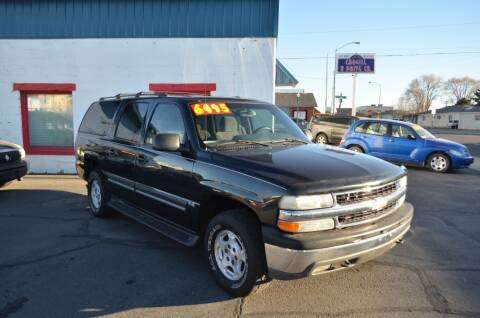 2004 Chevrolet Suburban for sale at CARGILL U DRIVE USED CARS in Twin Falls ID