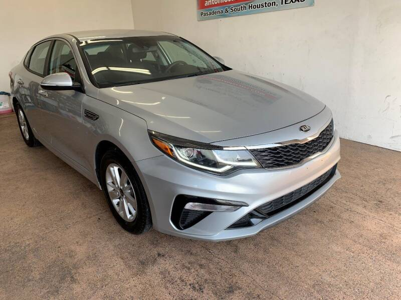 2019 Kia Optima for sale at Antonio's Auto Sales - Antonio`s  3001 in Pasadena TX
