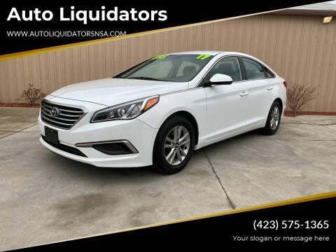 2017 Hyundai Sonata for sale at Auto Liquidators in Bluff City TN